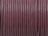 """Mauve Leather Cord 1mm - 36"""" (LR196)"""