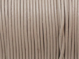 "Warm Gray Leather Cord 1mm - 36"" (LR199)"