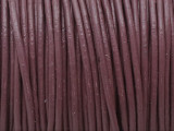"Mauve Leather Cord 0.75mm - 36"" (LR201)"