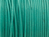 "Turquoise Leather Cord 0.75mm - 36"" (LR202)"