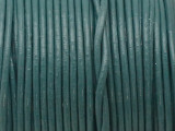 "Teal Green Leather Cord 0.75mm - 36"" (LR206)"