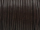 "Dark Brown Leather Cord 0.75mm - 36"" (LR207)"