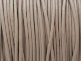 "Warm Gray Leather Cord 0.75mm - 36"" (LR208)"