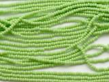 Lime Green Seed Beads - 11/0 (SB273)