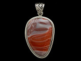 Sterling Silver & Red Canyon Jasper Pendant 42mm (AP2240)