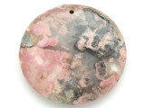 Rhodochrosite Gemstone Pendant 48mm (GSP3007)