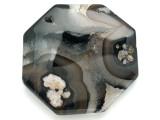 Agate Gemstone Pendant 55mm (GSP3029)
