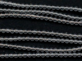 Clear Quartz Round Gemstone Beads 4mm (GS5106)