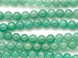 Green Jade Round Gemstone Beads 8mm (GS5121)