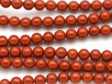 Red Jasper Round Gemstone Beads 6-7mm (GS5126)