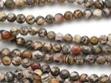 Leopardskin Jasper Round Gemstone Beads 6mm (GS5129)