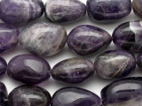 Large Amethyst Nugget Gemstone Beads 28-45mm (GS5134)