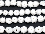 Solar Quartz Stalactite Slice Gemstone Beads 8-10mm (GS5139)