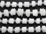Solar Quartz Stalactite Gemstone Beads 10-14mm (GS5142)