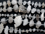 Rough Quartz Nugget Gemstone Beads 5-25mm (GS5147)