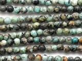 "African ""Turquoise"" Jasper Irregular Round Gemstone Beads 5mm (GS5025)"