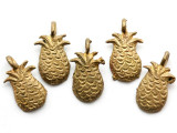Brass Pineapple Pendant 28mm - Ghana (ME525)