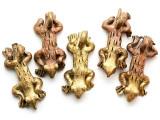 Brass Lizard Pendant 34-38mm - Ghana (ME530)