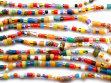 Christmas Trade Beads 4-8mm (AT106)
