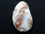 Agate Gemstone Pendant 55mm (GSP3143)