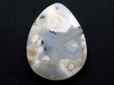 Agate Gemstone Pendant 55mm (GSP3145)