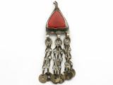 Afghan Tribal Pendant - Amulet 74mm (AF1074)