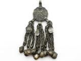 Afghan Tribal Pendant - Amulet 86mm (AF1078)