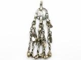 Afghan Tribal Pendant - Amulet 105mm (AF1085)