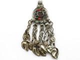 Afghan Tribal Pendant - Amulet 94mm (AF1086)