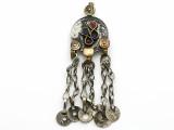 Afghan Tribal Pendant - Amulet 84mm (AF1087)