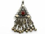 Afghan Tribal Pendant - Amulet 74mm (AF1091)