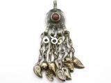 Afghan Tribal Pendant - Amulet 92mm (AF1092)