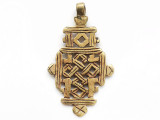 Coptic Cross Pendant - 67mm (CCP743)