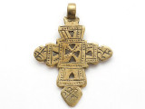 Coptic Cross Pendant - 62mm (CCP749)