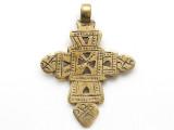 Coptic Cross Pendant - 62mm (CCP749)
