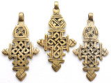 Coptic Cross Pendant - 70mm (CCP756)
