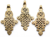Coptic Cross Pendant - 68mm (CCP757)
