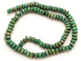 Maya Jade Rondelle Beads 6-8mm (GJ503)