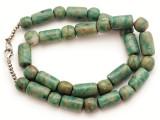 Maya Jade Round & Cylinder Beads 9-18mm (GJ504)