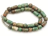 Maya Jade Round & Cylinder Beads 9-18mm (GJ506)