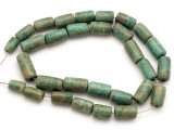 Maya Jade Cylinder Beads 11-20mm (GJ509)