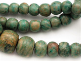 Maya Jade Large Graduated Beads 10-36mm (GJ511)