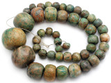 Maya Jade Large Graduated Beads 9-35mm (GJ514)