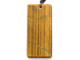 Tiger Eye Gemstone Pendant 60mm (GSP3262)