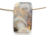 Boulder Opal Pendant 22mm (BOP422)