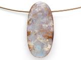 Boulder Opal Pendant 28mm (BOP425)
