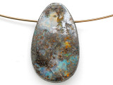 Boulder Opal Pendant 26mm (BOP438)