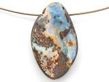 Boulder Opal Pendant 29mm (BOP439)