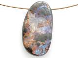 Boulder Opal Pendant 32mm (BOP445)