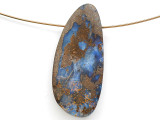 Boulder Opal Pendant 37mm (BOP446)